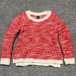 Gap 3  red white sweater 🎄perfect for Christmas